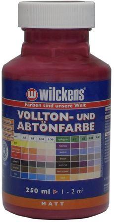 WILCKENS Voll- und Abtönfarbe WEINROT Matt LF 0,25 Liter