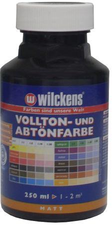 WILCKENS Voll- und Abtönfarbe SCHWARZ Matt LF 0,25 Liter