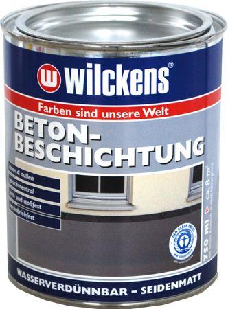 WILCKENS Betonbeschichtung LF RAL 3800 Rotbraun 0,75 Liter