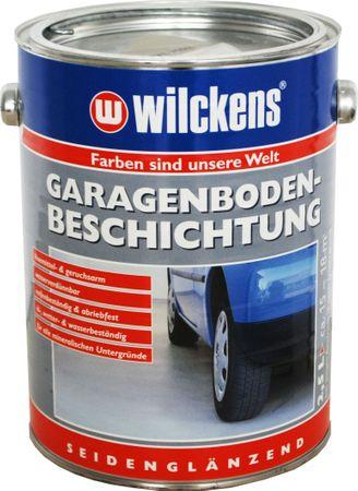 WILCKENS Garagenbodenbeschichtung LF RAL 7001 Silbergrau SG 2,5 Liter