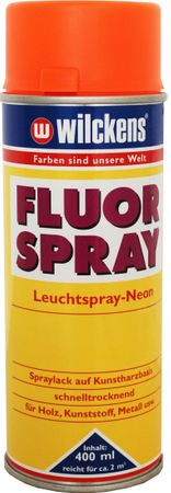 WILCKENS Fluorspray Neon Leuchtspray ORANGE 400 ml