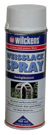 WILCKENS Weisslack Spray HOCHGLÄNZEND 400 ml