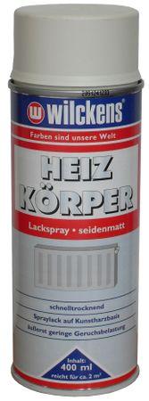 WILCKENS Heizkörper Lack Spray WEISS SEIDENMATT 400 ml