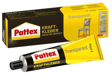 Pattex Kraftkleber Transparent 125 g Klebstoff Tube