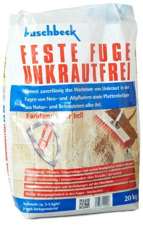 Buschbeck Feste Fuge Unkrautfrei NATUR HELL 20kg-Sack