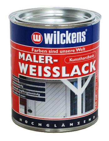 WILCKENS Maler Weisslack hochglänzend 0,375 Liter
