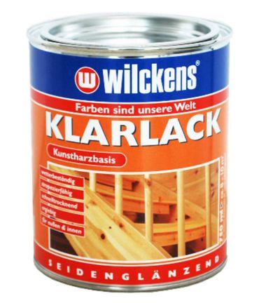 WILCKENS Klarlack seidenglänzend farblos 0,375 Liter