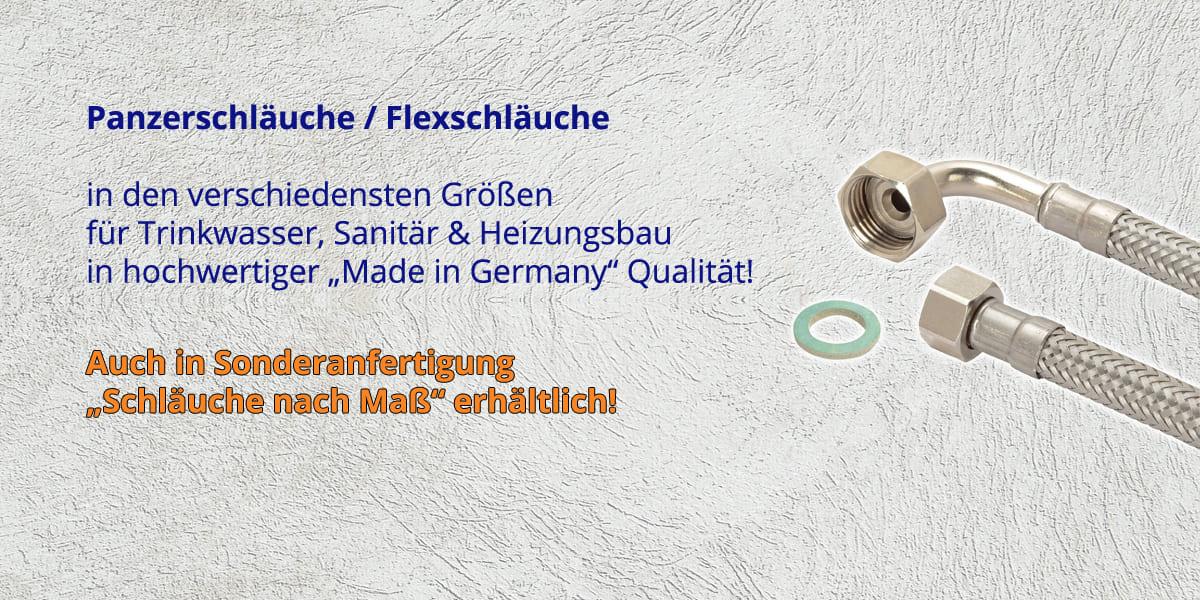 Panzerschläuche / Flexschläuche