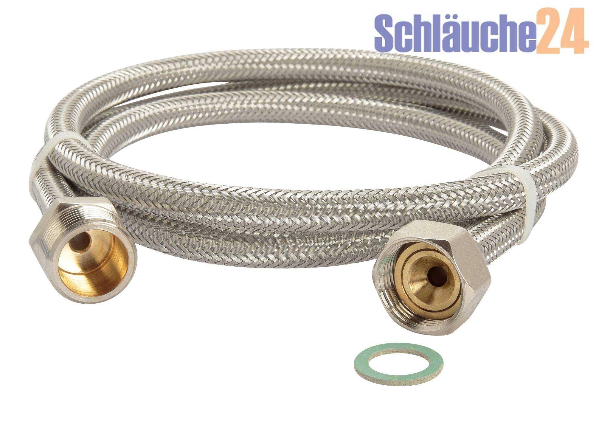 waschmaschinen panzerschlauch   aquastop