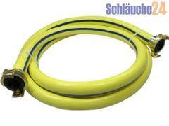 """Brauchwasserschlauch 3/4"""", fertig montiert mit GEKA Kupplungen, 5m - 50m Länge, 5-lagig mit Trikotgewebe sehr flexibel, Gartenschlauch"""