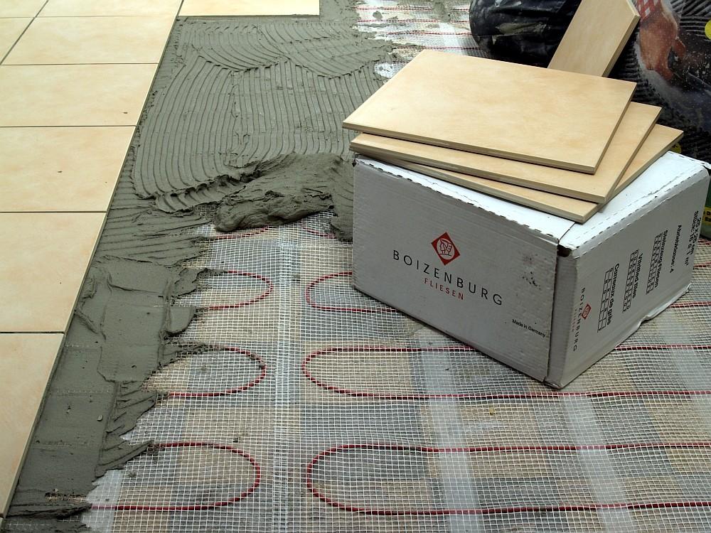 Fußbodenheizung Elektro, 160Watt/m², vollwertige Raumheizung für 1m² ...