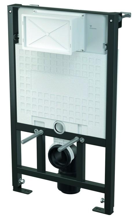 wc vorwandelement inkl dr ckerplatte zur wandmontage unterputzsp lkasten h nge wc bauh hen 85. Black Bedroom Furniture Sets. Home Design Ideas