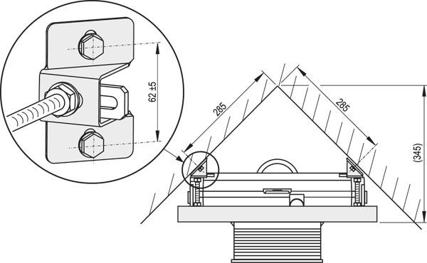 WC Vorwandelement inkl ECKMONTAGE Spühlkasten 85 100 120 cm Drückerplatte