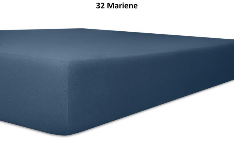 Keno Kent Jersey-Spannbetttuch, Farbgruppe blau – Bild 3