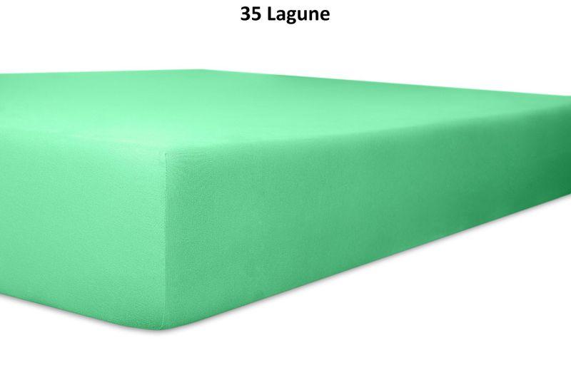 Keno Kent Jersey-Spannbetttuch, Farbgruppe grün – Bild 3
