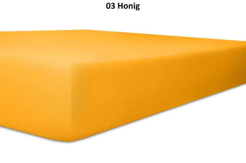 Keno Kent Jersey-Spannbetttuch, Farbgruppe gelb – Bild 3