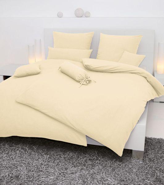Seersucker-Bettwäsche, einfarbig,  Farbgruppe: weiß/natur/grau – Bild 2