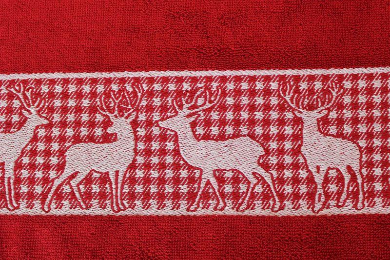 """Handtuch """"Hirsch rot"""" – Bild 2"""