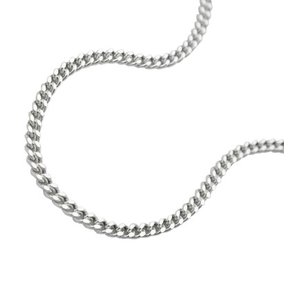 Damen Panzerkette Collier Halskette 925 Sterling Silber