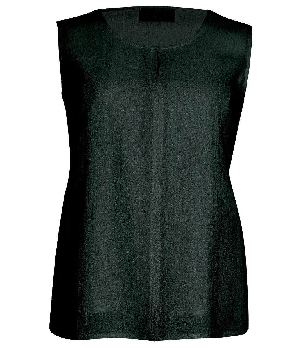 chalou damen leinen tr ger top in schwarz gro e gr en. Black Bedroom Furniture Sets. Home Design Ideas
