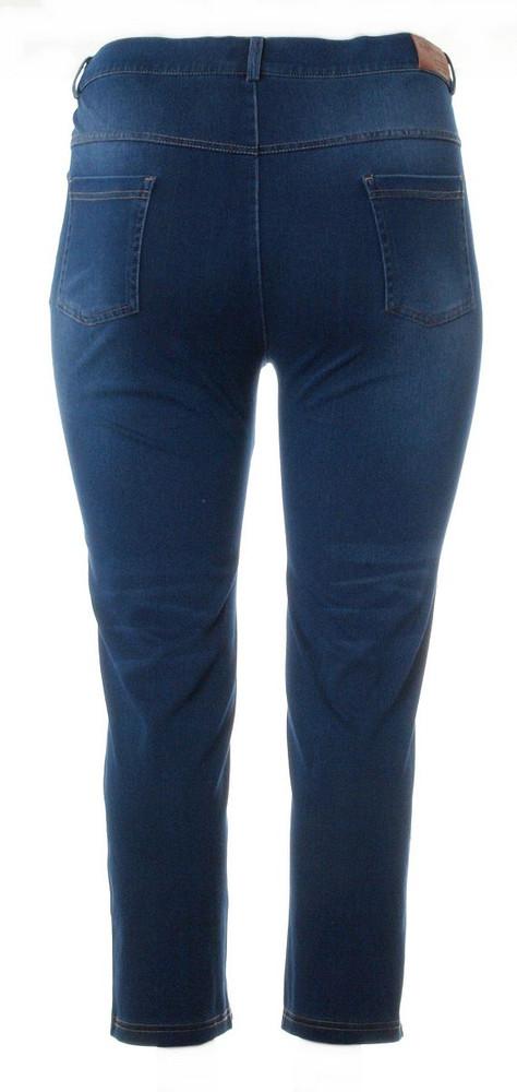Jeans Damen weich und bequem große Größen Stretch in Blau