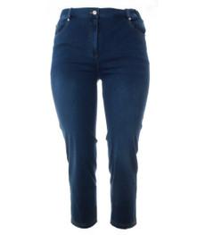 Jeans Damen weich und bequem große Größen Stretch in Blau 001