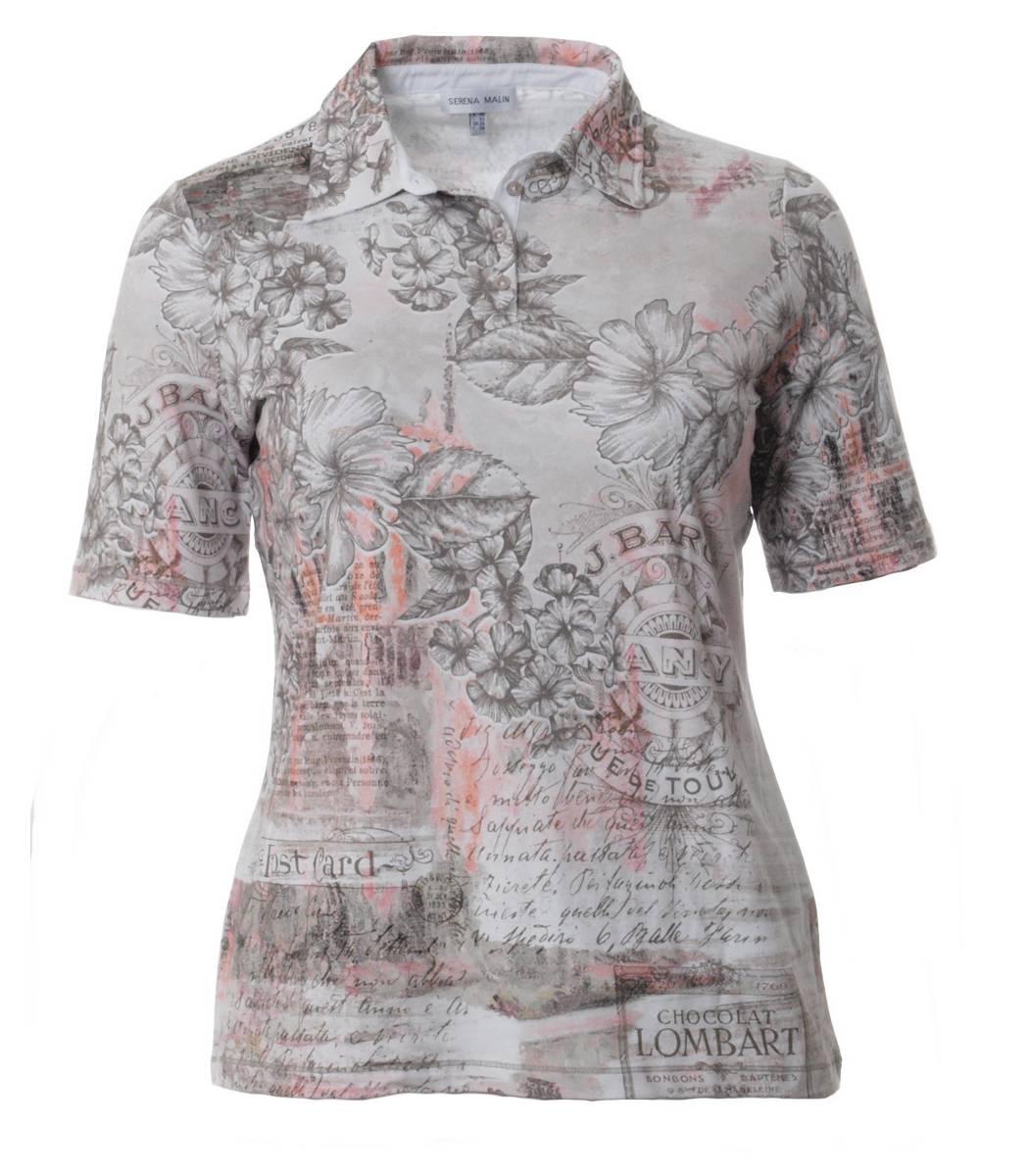 Serena Malin Tunika Blusenshirt Bluse Polo Shirt Tunika Damen große ... 1ae856f513