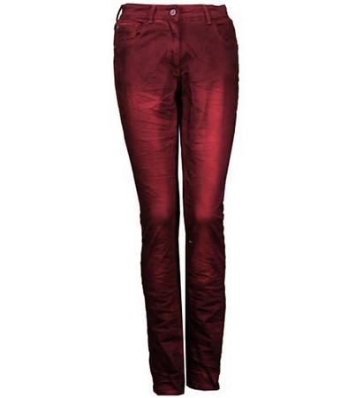 Jeans Damen große Größen Stretch von No Secret in Rot