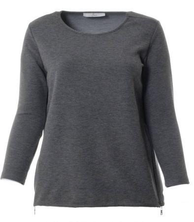 Ser Sweatshirt Damen Grau große Größen