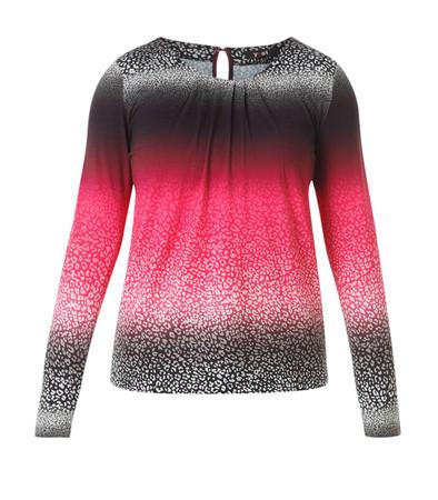 Pinkes Shirt Damen langarm große Größen