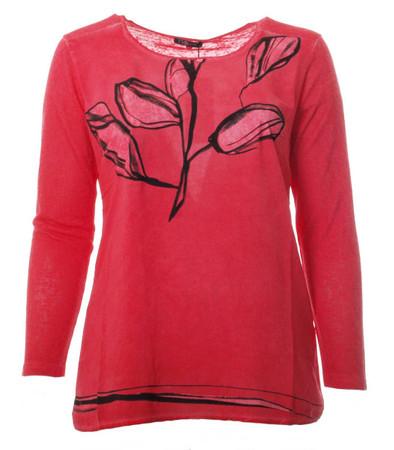 Langärmliges T Shirt Damen große Größen