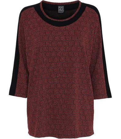 Pont Neuf Shirt Rihana mit Glitzer in Rot