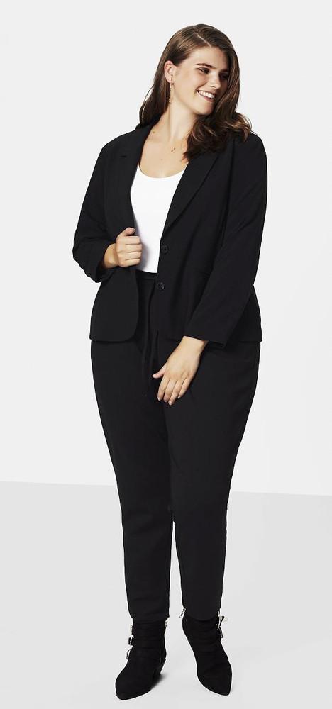 online Shop modische Muster offizieller Laden Zizzi Blazer Damen Schwarz