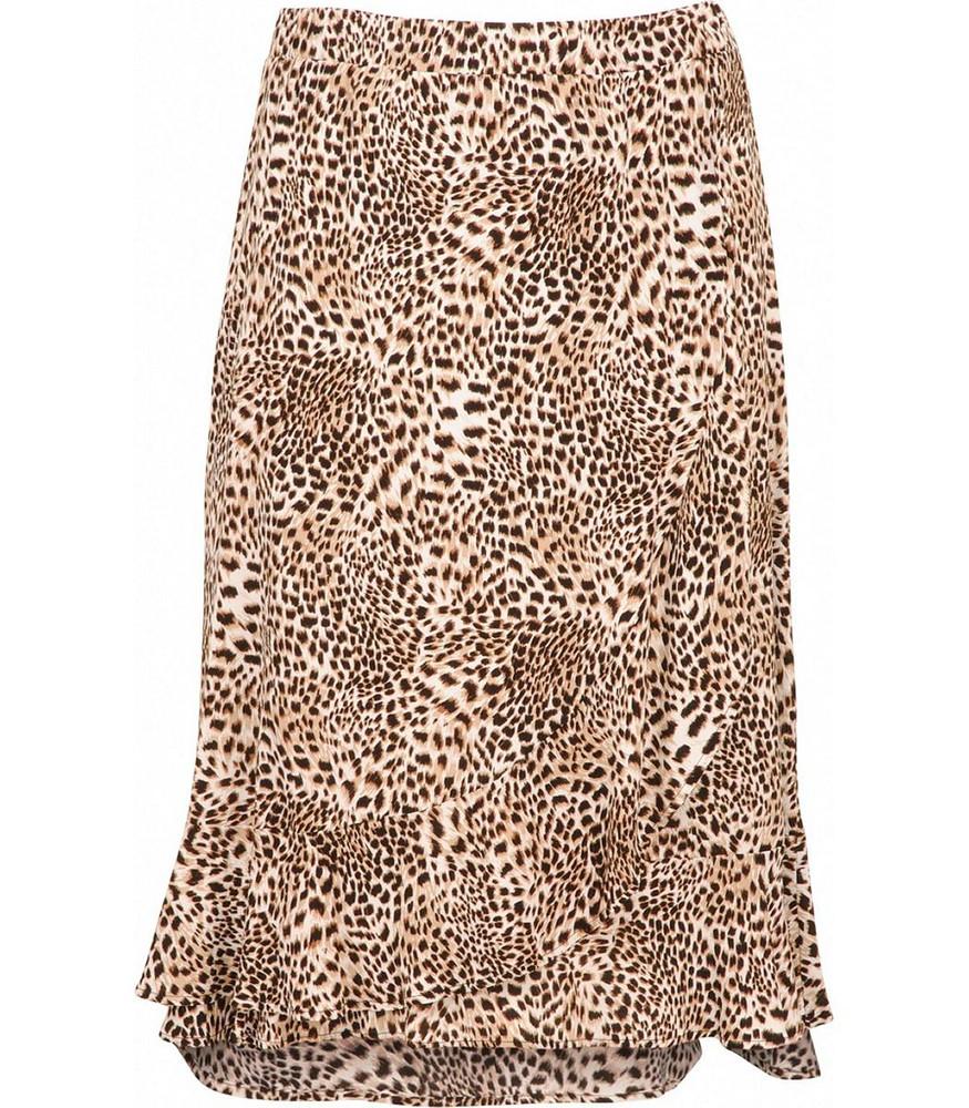 best service 2e693 ee9ab Langer Damen Rock Damen wadenlang Leopardenmuster Braun große Größen | Mode  für Mollige ❤ Damenmode Online Shop für große Größen