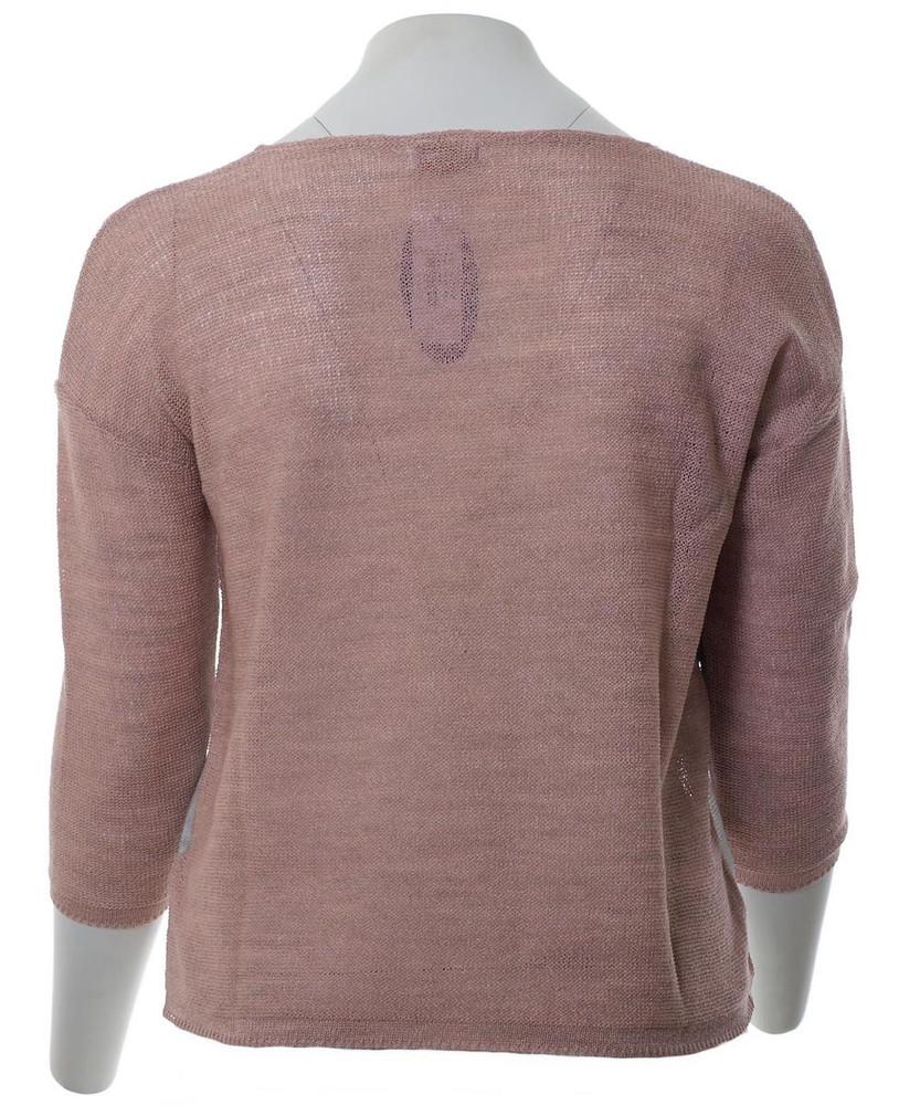 newest 34dea 21464 Damen Pullover Rosa Altrosa 3/4 Arm