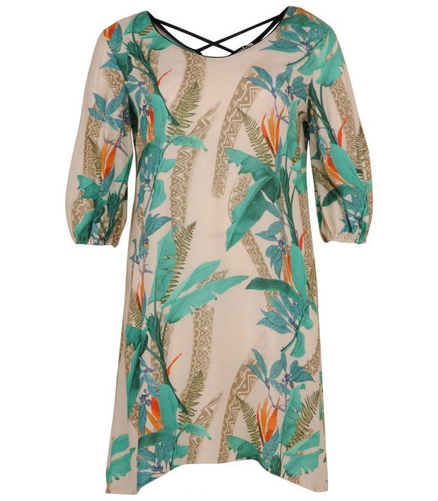 aprico damen kleid grün knielang kurzarm große größen | mode für mollige ❤  damenmode online shop für große größen