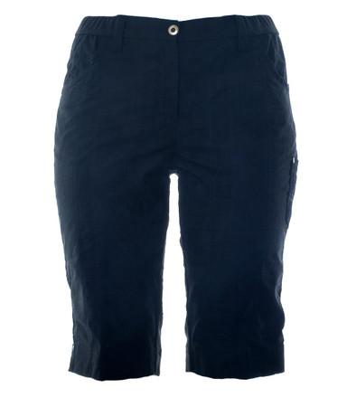 KjBrand Damen Bermuda Shorts Hose Betty in Blau große Größen