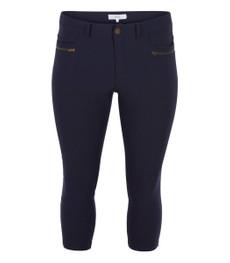 Zizzi Damen Slim Jeans Hose Jeggings Dunkelblau Größe 48 001