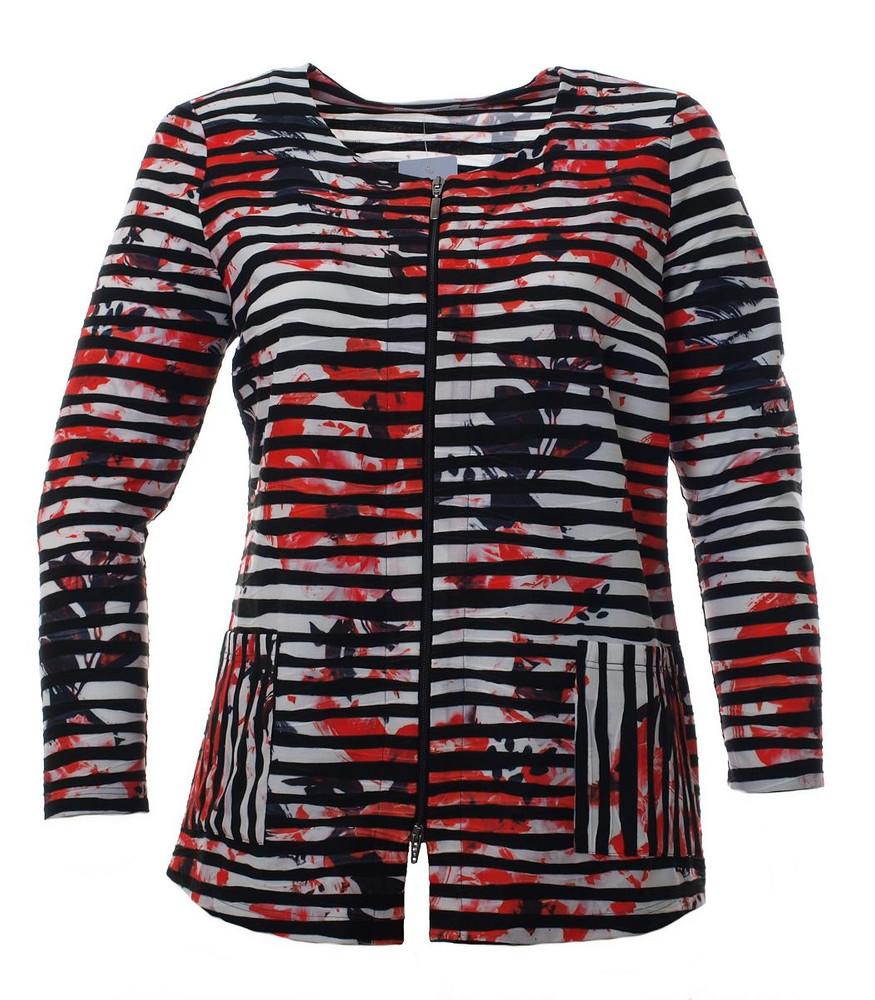 purchase cheap 1e794 b0238 Leichte Sommer-Jacke in Orange große Größen von Mona Lisa