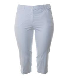 KjBRAND Capri Hose Weiß Damen Betty CS Stretch Jeans 001