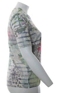 camouflage t shirt damen große größen