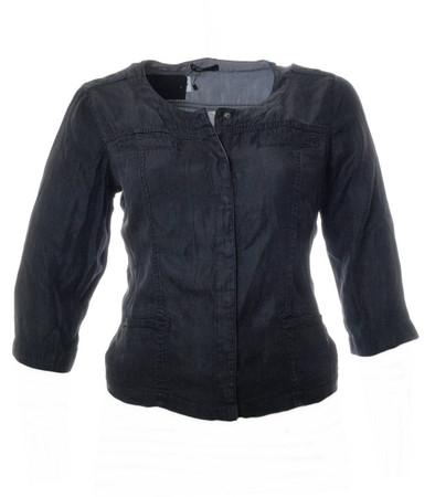 Jeansjacke Schwarz Damen kurz große Größen von No Secret
