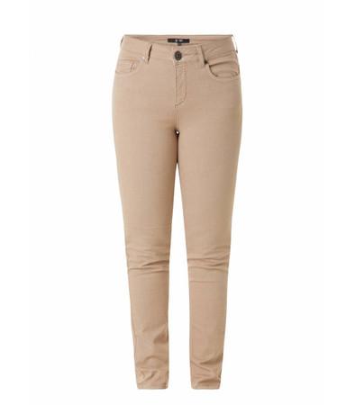 Braune Jeans-Hose große Größen Damen
