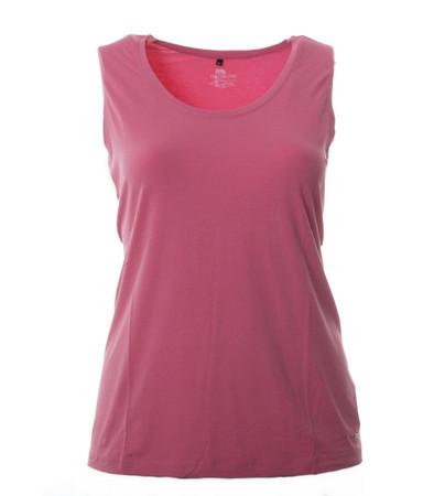 Ärmelloses T-Shirt Top ohne Ärmel in Rosa für Große Größen Damen von No Secret