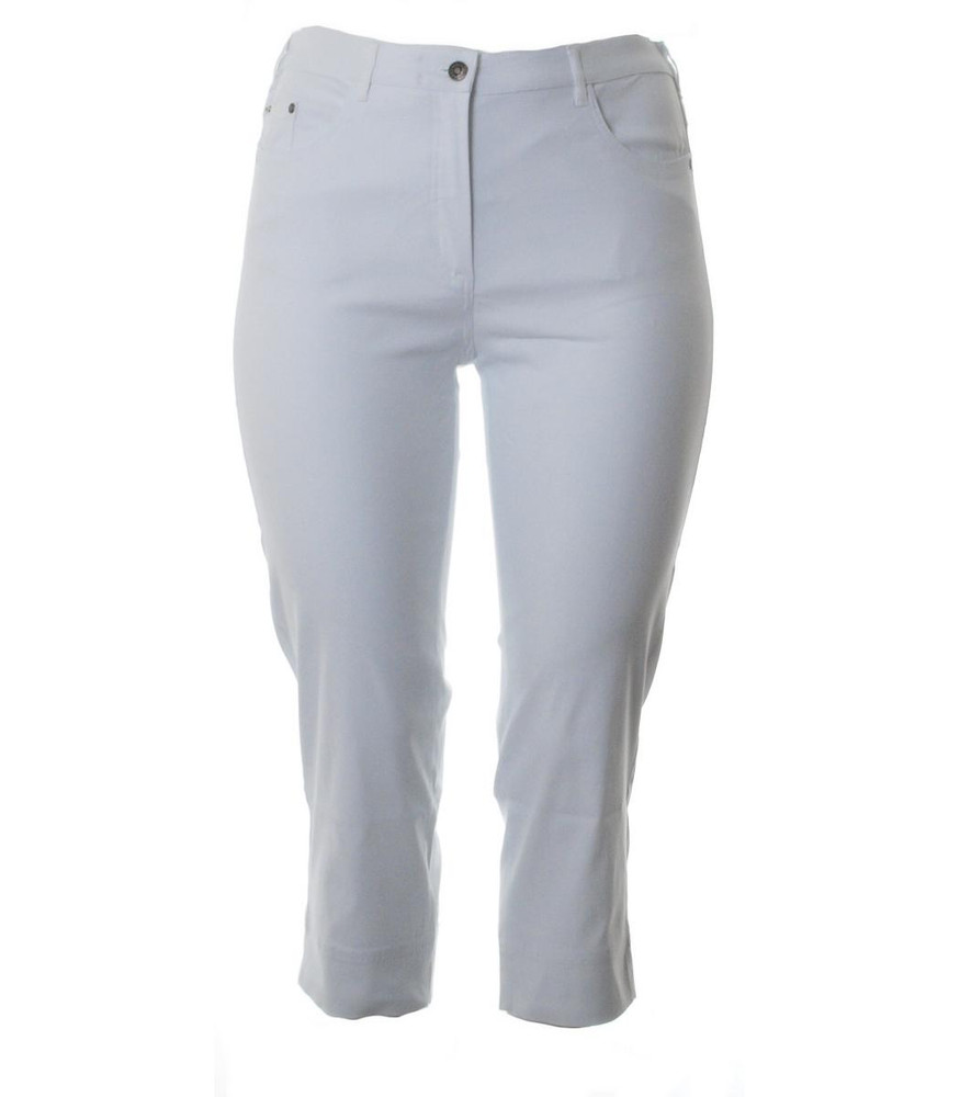 ed2da3ba670c48 No Secret Stretch 7 8 Jeans-Hose Damen große Größen in Weiß