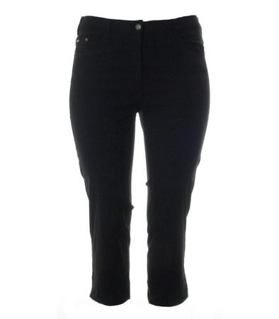 No Secret Stretch 7/8 Jeans-Hose Damen große Größen in Schwarz