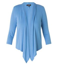 Damen Strickjacke elegant Blau 001