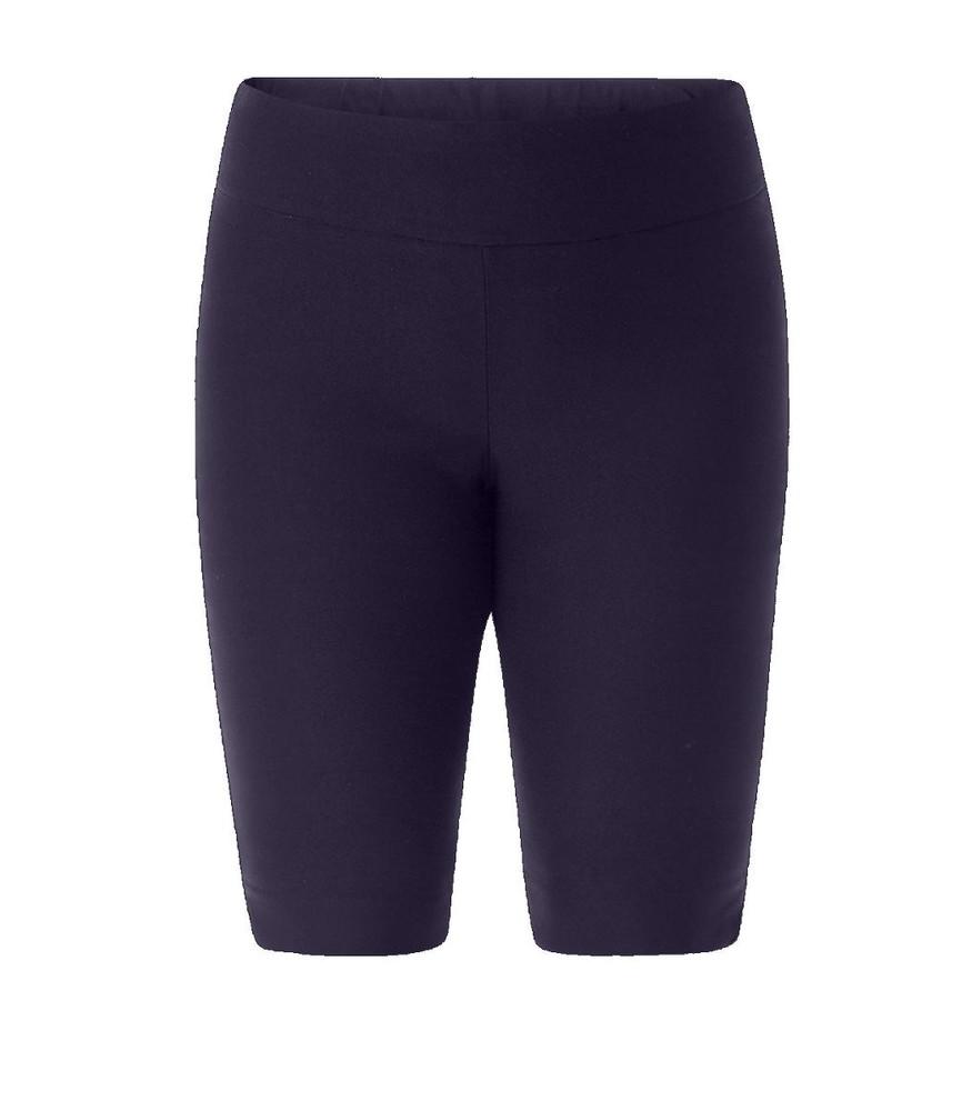 e595066af107 Stretch Bermuda Shorts Damen große Größen Navy Blau kurze Hose ...