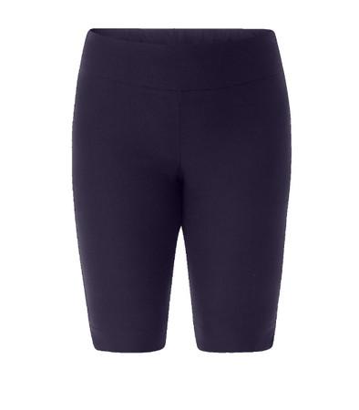 Stretch Bermuda Shorts Damen große Größen Navy Blau