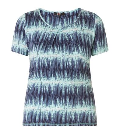 Damen T-Shirt Türkis Blau große Größen aus Viskose